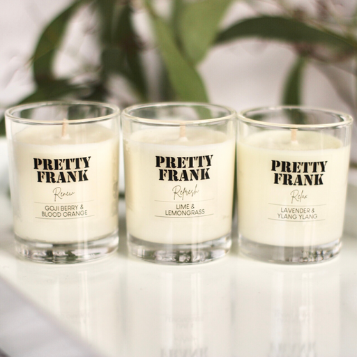 The Wellbeing Edit | Bundle of 3 sample size candles