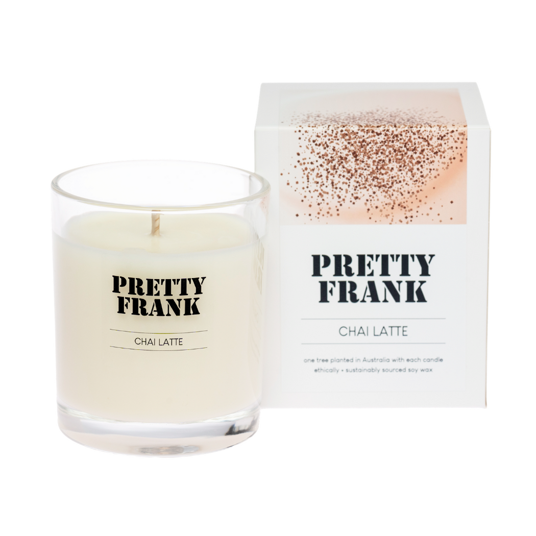 Chai Latte Scented Candle [Limited Edition]
