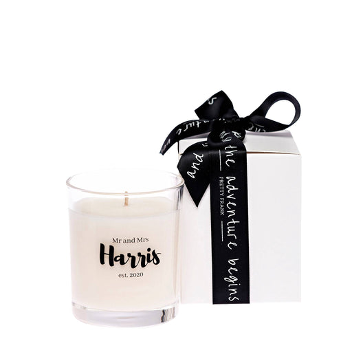 Our New Name Candle Gift Box