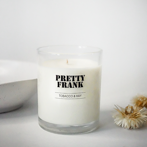 Tobacco & Hay Scented Candle