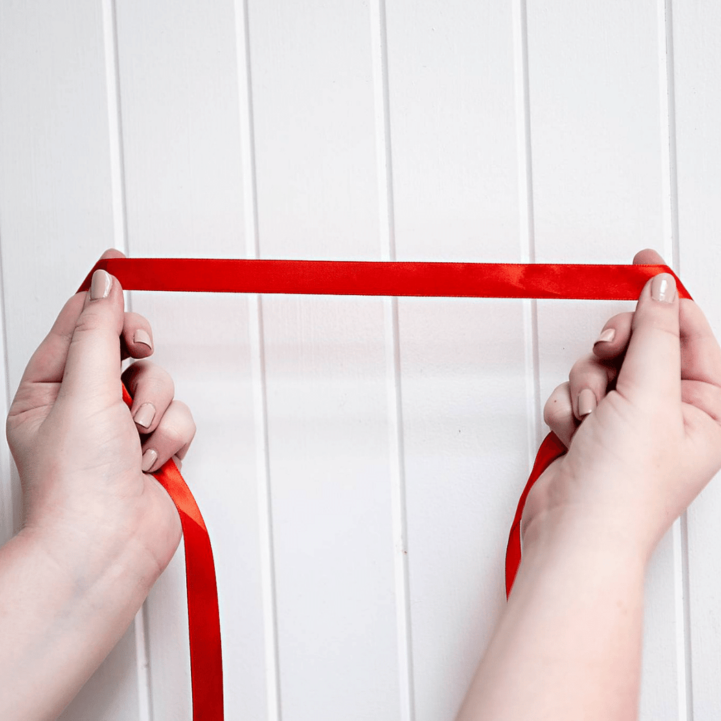 Red Romance Ribbon
