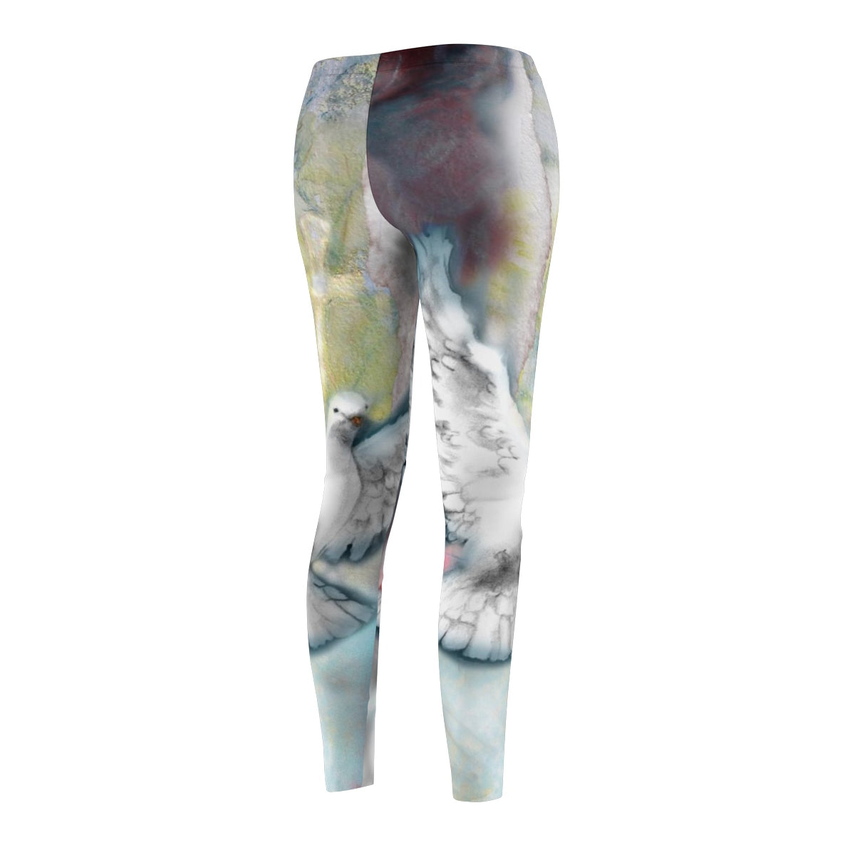 Right To The Soul (Dove): Women's Leggings