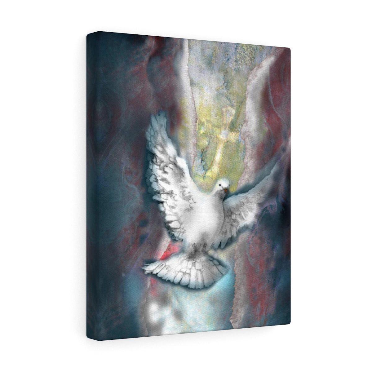 Right To The Soul (Dove): Canvas Art, wrapped edge