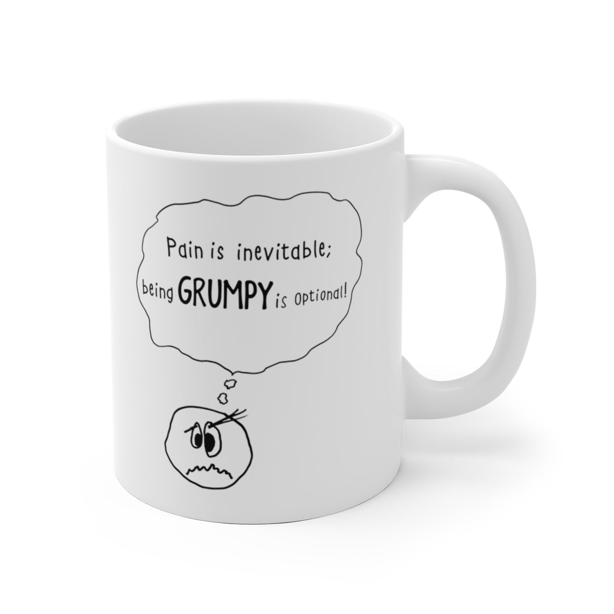 Grumpy is Optional: Mug
