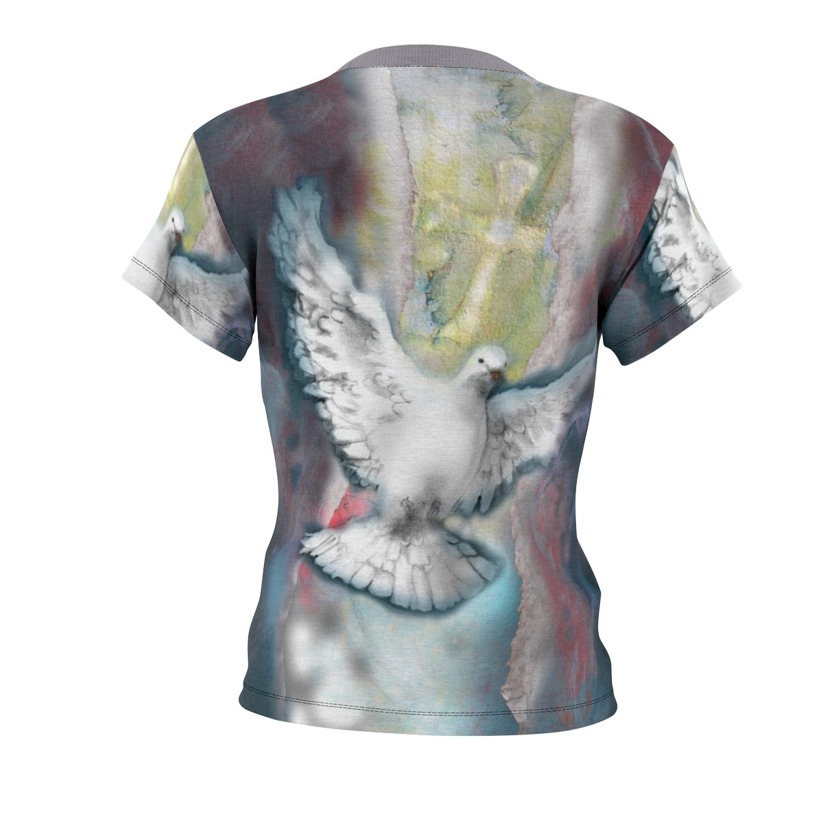 Right to the Soul (Dove): Women's All-Over Print Tee