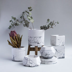 Cementify Handmade Concrete Planter Perfect Imperfect Collection