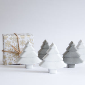 Monochrome Concrete Christmas Tree