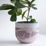 "Perfect Imperfect Large Egg Planter 6""- Nostalgia Rose"