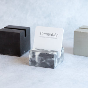 Cementify Concrete Business Card holder