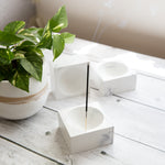 Concrete Incense Holder - Orb