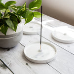 Concrete Incense Holder - Upright