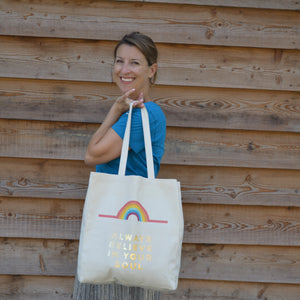 Organic Cotton & Fairtrade Luxury Shopper Tote