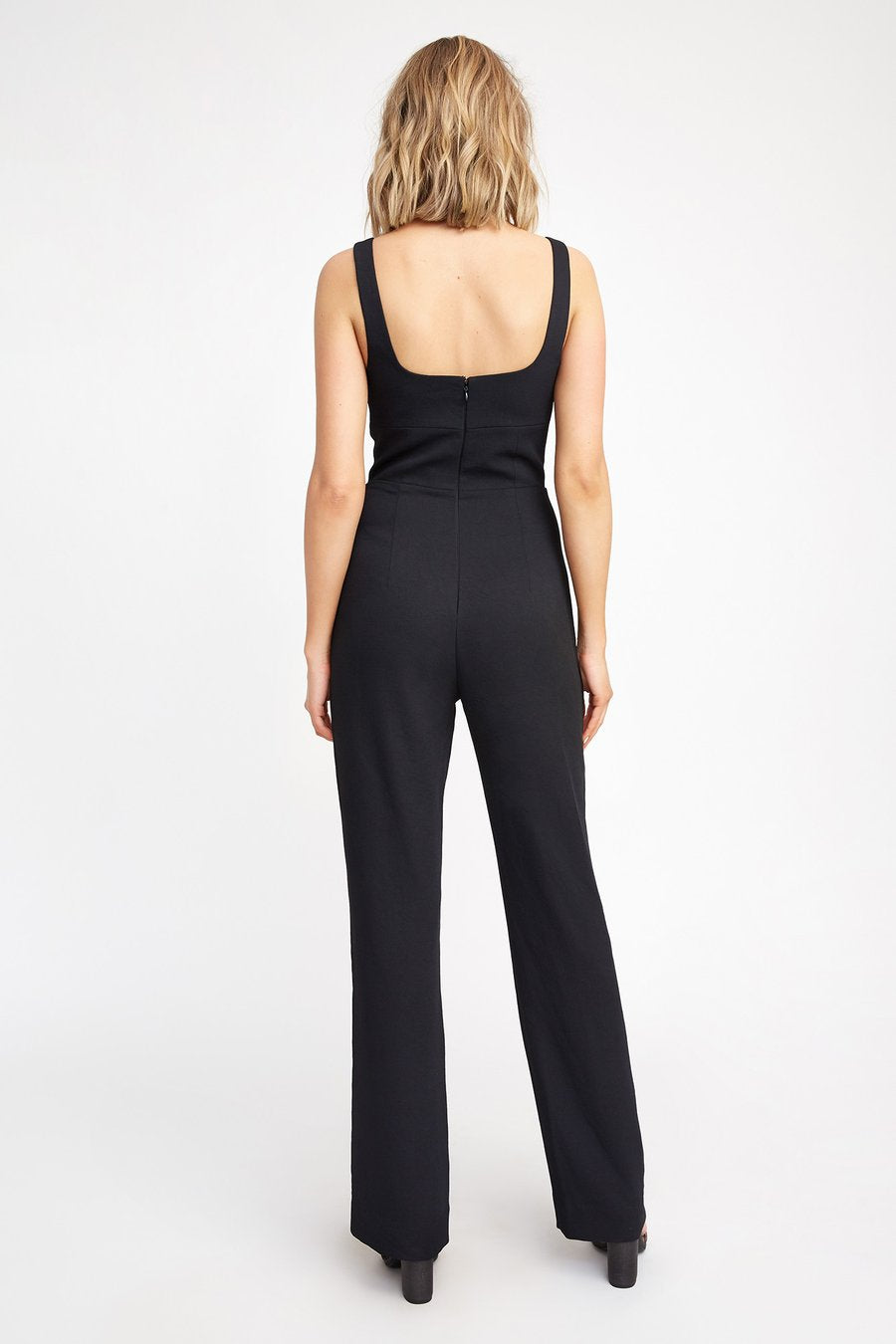 Macey Jumpsuit in Black - Kookaï