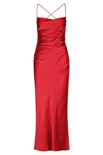 Load image into Gallery viewer, Wright Ruched Backless slip in Scarlett - Shona Joy