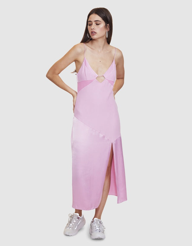 Palm Beach Midi in Pink - Véstire the Label