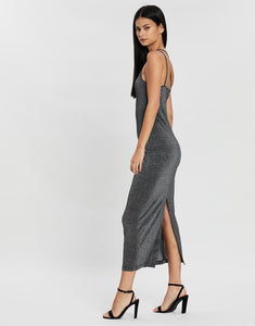 Shimmy One Shoulder in Black - Third Form