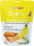 GRANDMA LUCY'S Organic Oven Baked Dog Treats: Banana & Sweet Potato (14oz)