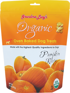 GRANDMA LUCY'S Organic Oven Baked Dog Treats: Pumpkin (14oz)