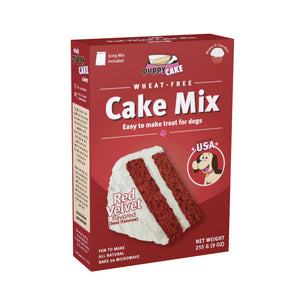 PUPPYCAKE Cake Mix: Red Velvet Wheat-Free (9oz)
