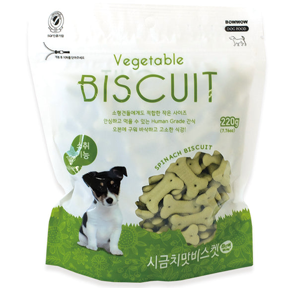 BOWWOW Biscuit Treats: Vegetable (220g)