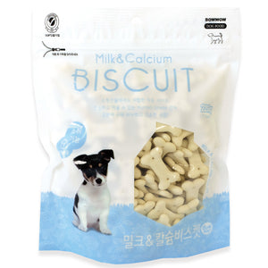 BOWWOW Biscuit Treats: Milk & Calcium (220g)
