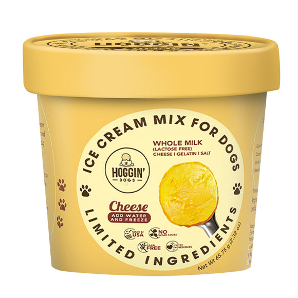PUPPYCAKE Puppy Scoops Cow's Milk Hoggin' Dogs Ice Cream Mix: Cheese (2.32oz/4.65oz)