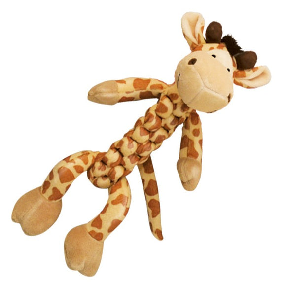 KONG Safari Braidz Giraffe Toy (Medium)