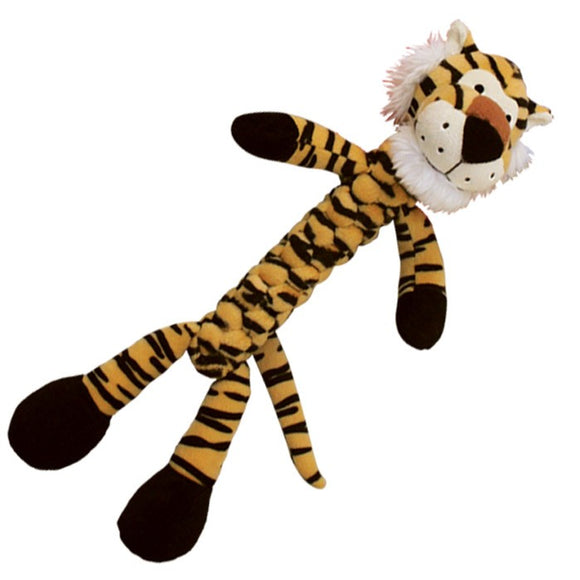 KONG Safari Braidz Tiger Toy (Medium)