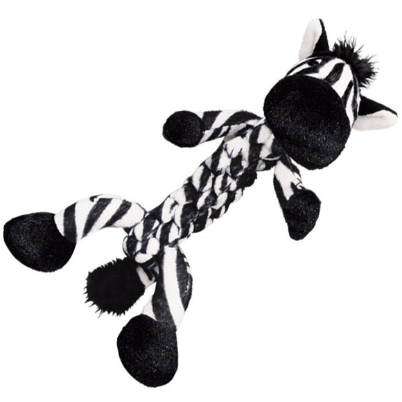 KONG Safari Braidz Zebra Toy (Small)