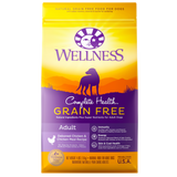 WELLNESS Complete Health Grain-Free Dry Food: Adult Deboned Chicken & Chicken Meal (4lb/24lb)