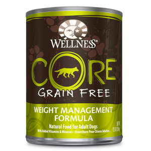 WELLNESS CORE Grain-Free Wet Food Pate: Weight Management (12.5oz)