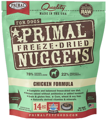 BUNDLE DEAL: Primal Freeze-Dried Grain-Free Chicken Formula Dog Food