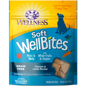 WELLNESS Soft WellBites: Chicken & Lamb (6oz)