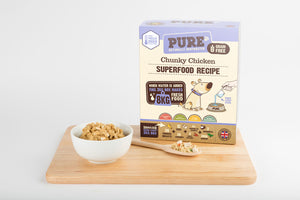 PURE Chunky Chicken Freeze-Dried Dog Food
