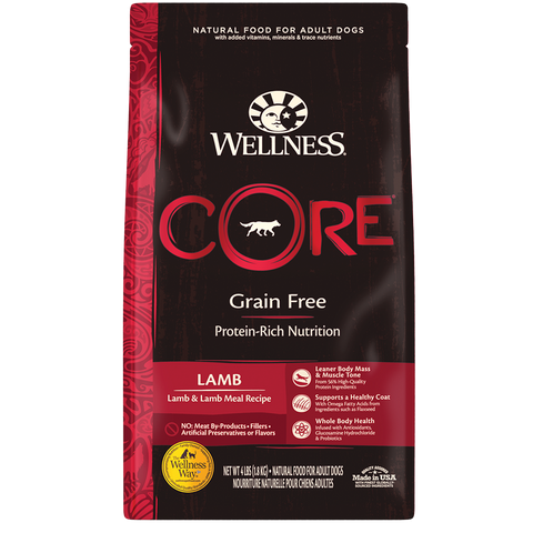 WELLNESS CORE Grain-Free Lamb & Lamb Meal Recipe (Adult)