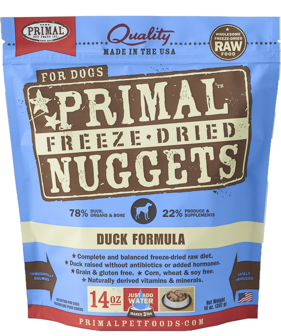 *PROMO* PRIMAL Freeze-Dried Grain-Free: Duck Formula
