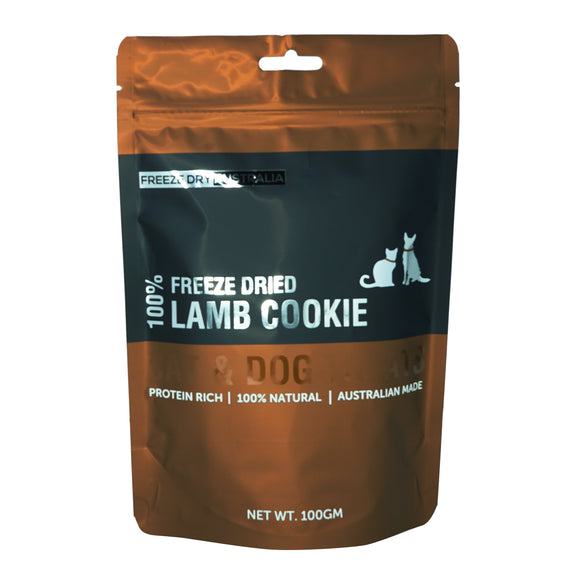 FREEZE DRY AUSTRALIA 100% Lamb Cookie (100g)