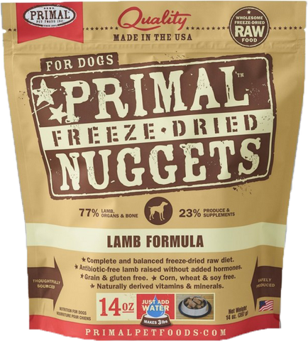 BUNDLE DEAL: Primal Freeze-Dried Grain-Free Lamb Formula Dog Food