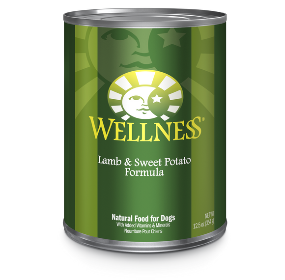 WELLNESS Complete Health Wet Food Pate: Lamb & Sweet Potato (12.5oz)