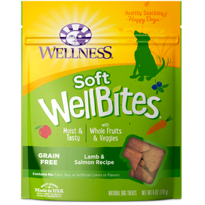 WELLNESS Soft WellBites: Lamb & Salmon (6oz)