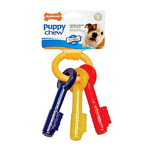 Nylabone Puppy Teething Keys (Small, Up to 11kg)