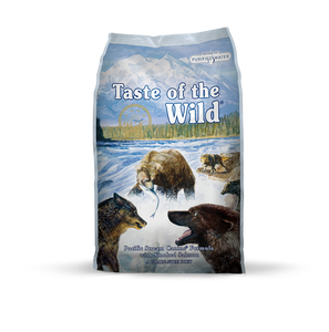 TASTE OF THE WILD Grain-Free Dry Food: Pacific Stream with Smoked Salmon (2kg/13kg)