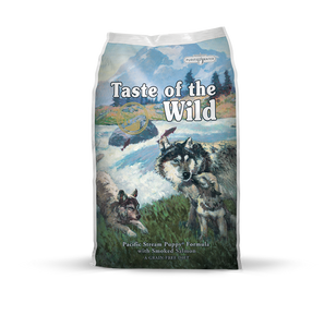 TASTE OF THE WILD Grain-Free Dry Food: Pacific Stream with Smoked Salmon Puppy (2kg/13kg)