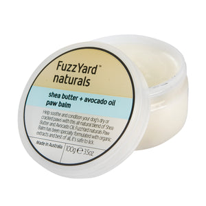 FUZZYARD Shea Butter + Avocado Oil Paw Balm (100ml)