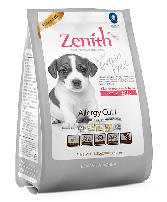 BOWWOW ZENITH Dry Food: Puppy Chicken Breast Meat & Potato (1.2kg)
