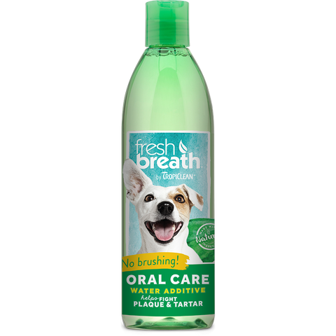 Tropiclean Fresh Breathe Water Additive For Dogs