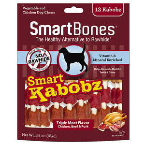 SMARTBONES Smart Kabobz (12pcs, 6.5oz)