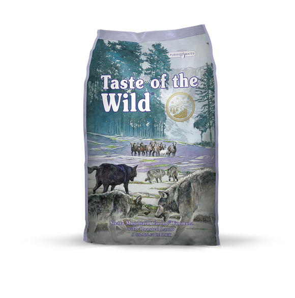TASTE OF THE WILD Grain-Free Dry Food: Sierra Mountain Roasted Lamb (2kg/13kg)