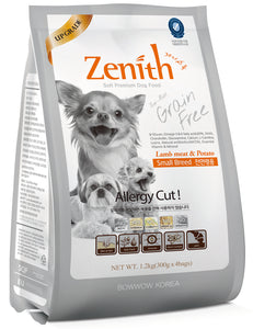 BOWWOW ZENITH Dry Food: Small Breed Lamb Meat & Potato (1.2kg)