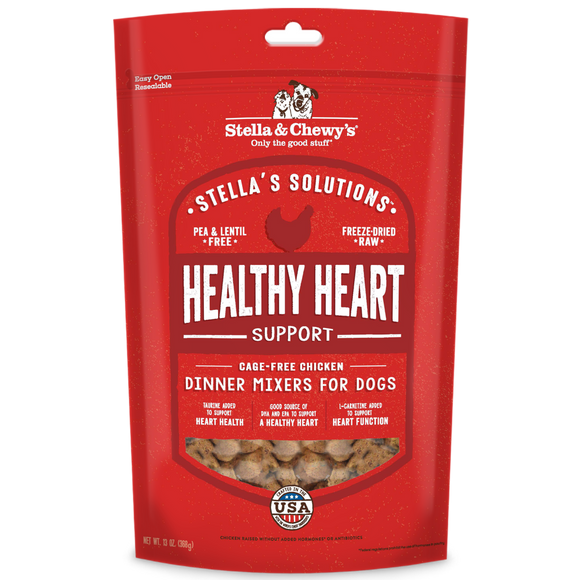 STELLA & CHEWY'S Stella's Solutions: Healthy Heart Support Cage-Free Chicken (13oz)